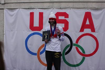 InStep Icebreaker Indoor Half Marathon Awards