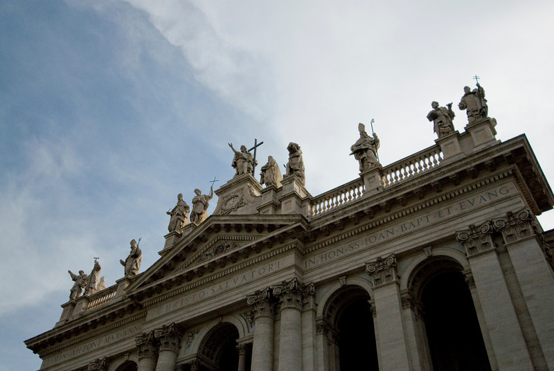 St. Peter's Basilica in Rome, Italy