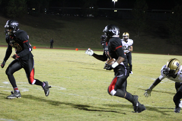 Baldwin High Football Senior Night