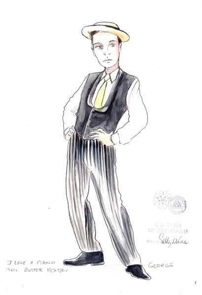 GEORGE 1930s as Buster Keaton, Final.jpg