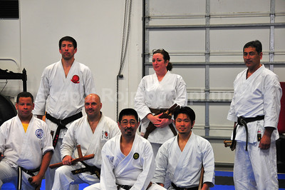 Tonfa Seminar #3, 2011 -- Nobu Sensei