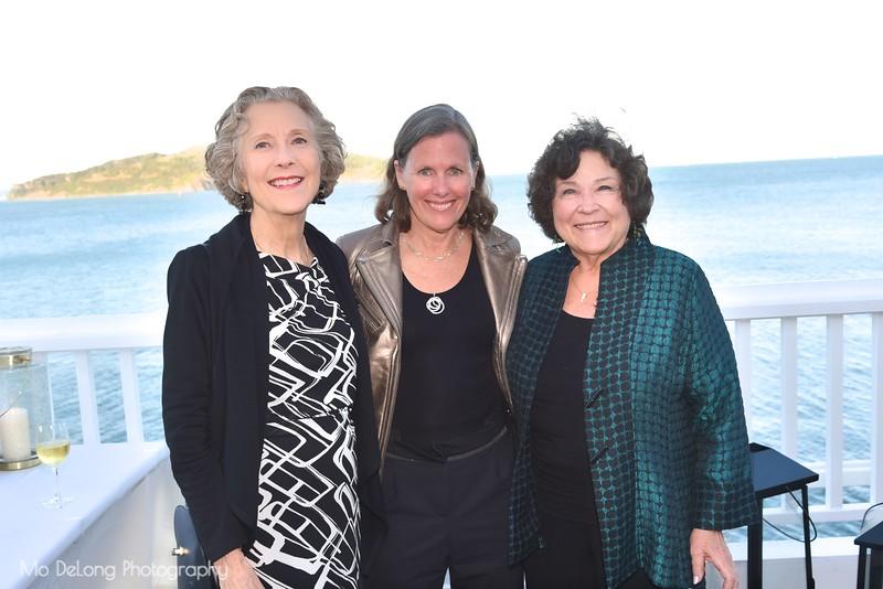 Kay Carlson, Susan Noyes and Tricia Garlock