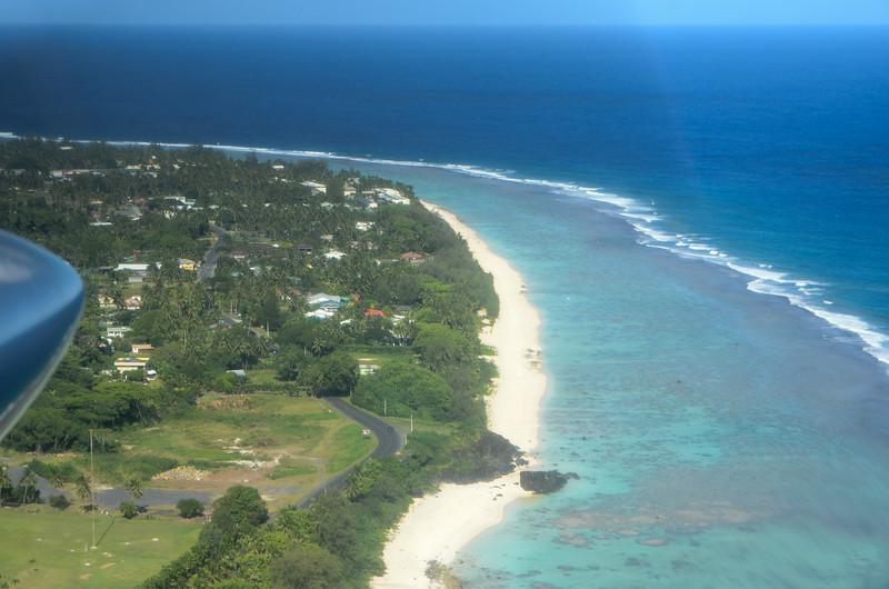 Leaving Raro for Aitutaki...