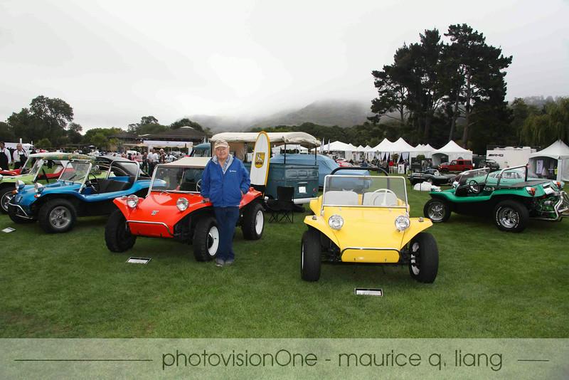 Designer of the fiberglass dune buggy, Bruce Meyers.