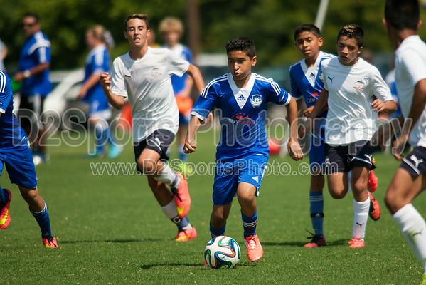 CSA NORTH ELITE vs NCUSA 00 ORANGE - U14 Boys 8/16/2014