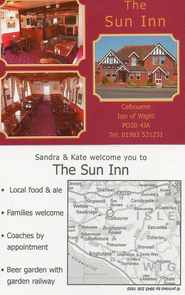 The Sun Inn, Calbourne, IOW.