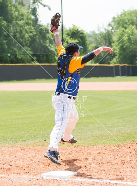 2012-03-31 Baseball Varsity Boys Brazoswood Christian @ St. John's