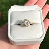 1.97ctw Antique Cluster Ring, GIA G SI2 25