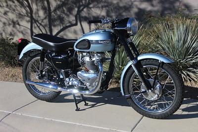 1956 Triumph Tiger T110 (Wedlake)