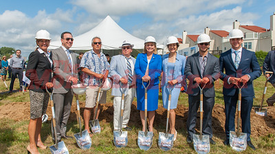 South Beach at Long Branch Groundbreaking 8-2-2016
