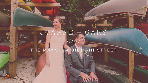 JOANNE + GARY ////// THE MANSION ON MAIN STREET