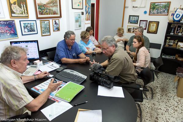 Visit to Ilan Haifa Center