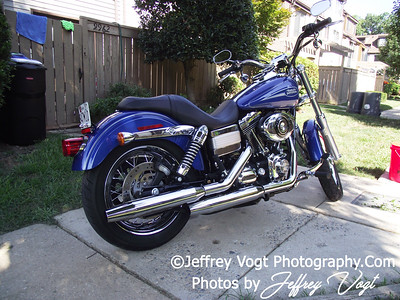 7/26/2011 Jeffrey Vogt's Harley Davidson Low Rider, Montgomery County Maryland, Photos by Jeffrey Vogt Photography