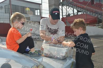 Autograph Session, Fans, & Sponsors