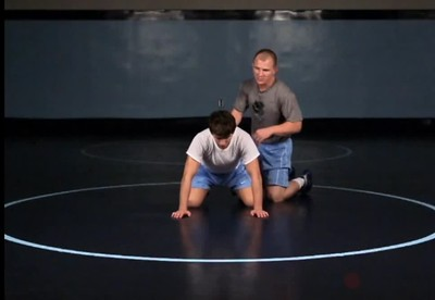 Proper position when opponent is in transition