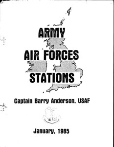 USAAF BASES IN ENGLAND