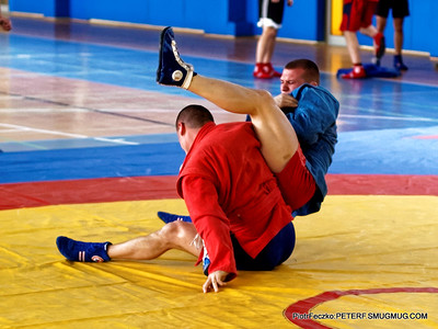 Sambo Championship Cracow january 2016