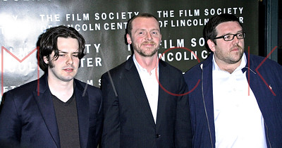 """New York, NY - April 10:  The New York Premiere for """"Hot Fuzz"""" at The Walter Reade Theater, Film Society of Lincoln Center."""