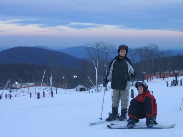 1st Ski Trip