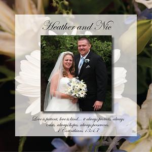 Bride's Parents Album Inside Proofs