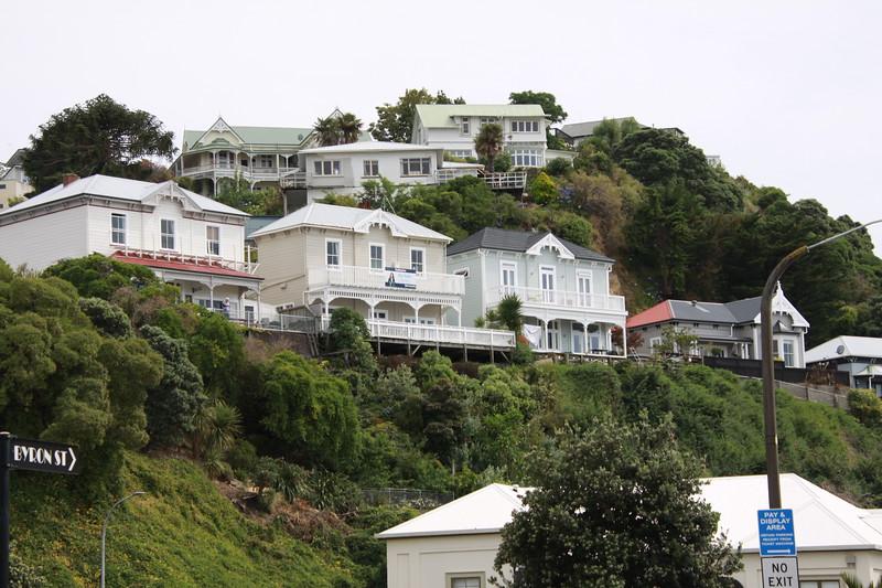 Napier-Three Sister houses