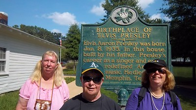 Memphis - The ELVIS TOUR! #1235