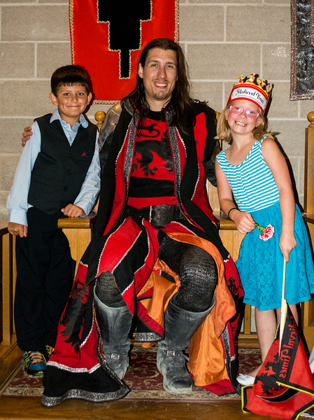 Medieval Times With Lilly And Mattie (Red Knight)
