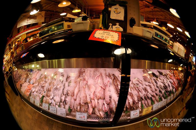 Fisheye Fish - Reading Terminal Market, Philadelphia