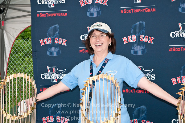 Red Sox Trophies 2014