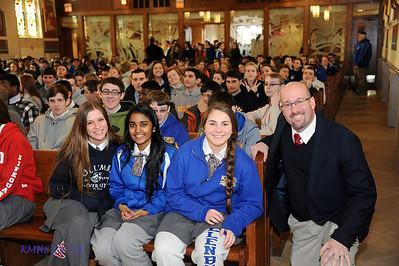 Sophomore Pilgrimage to Son Of God 3-18-14BroRoger