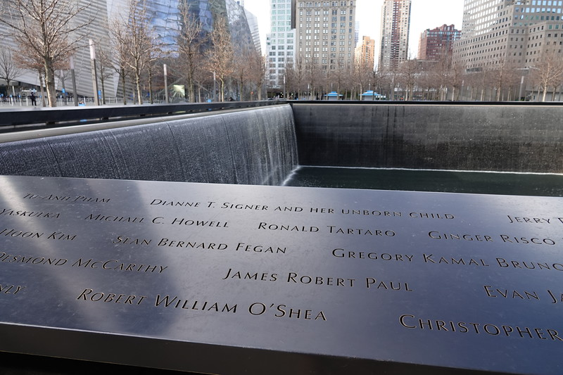 WTC North Pool, Manhattan.