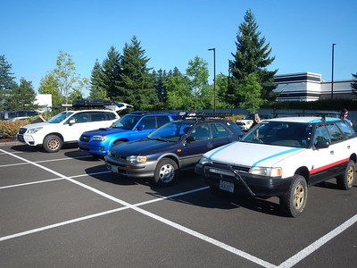 """Cars - n - coffee"" Wilsonville, OR Aug. 2017"