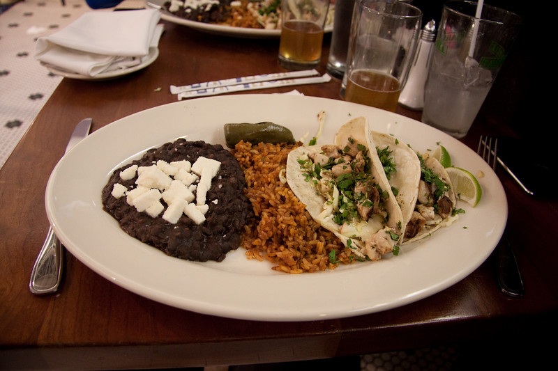 Last meal in USA - Fish Tacos LA airport