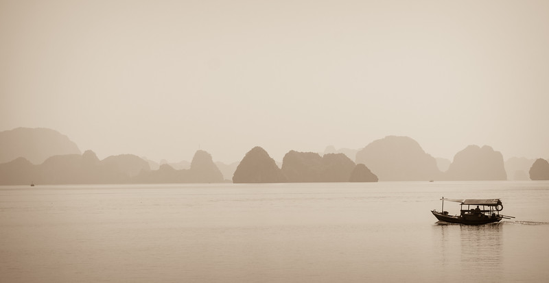 Magic Halong Bay.