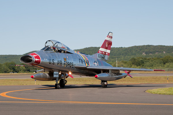 F-100F Super Sabre Practice 8/20/10