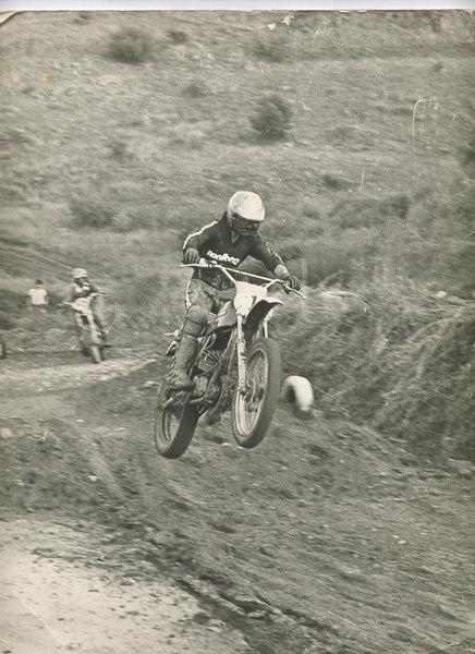 1976/77: cross ad Agnone Bagni (sr)