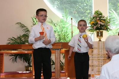 PUMC Cherub Bell Choir