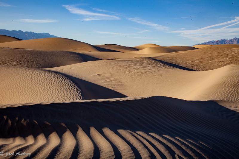 Mesquite Flat Sand Dunes, Death Valley National Park, CA