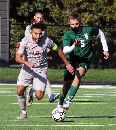 Billerica Lowell soccer 101720