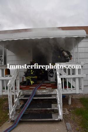 HICKSVILLE FD BAY AVE HOUSE FIRE 10-12-16