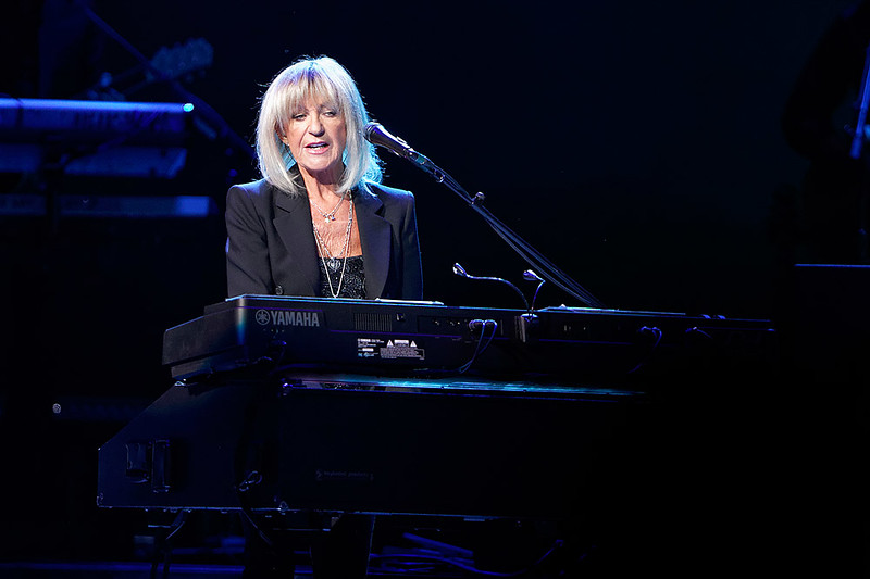. Christine McVie plays piano and sings on stage with Fleetwood Mac on Wednesday, Oct. 22, 2014, at The Palace of Auburn Hills. Photo by Ken Settle-Special to The Oakland Press