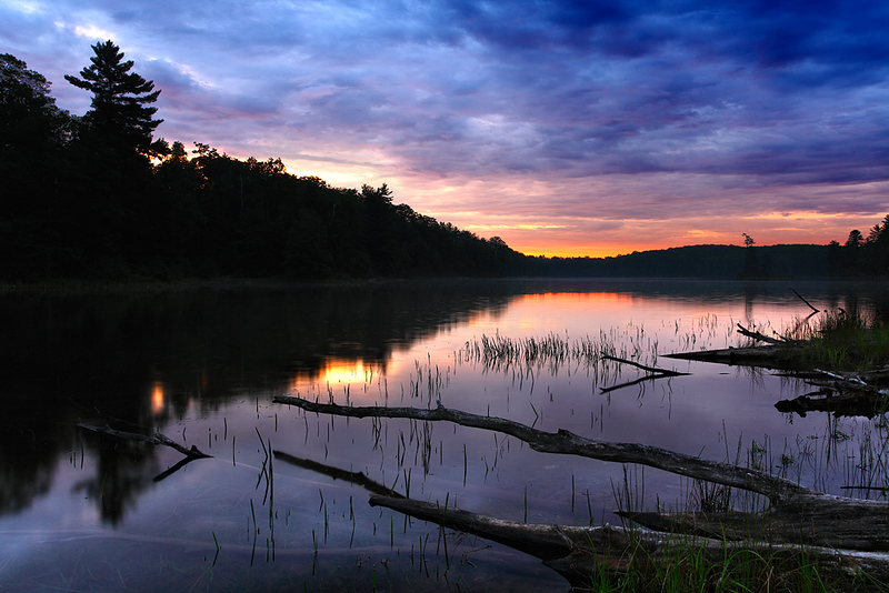 Dawn's Delight - Nebish Lake (Northern Highland American Legion State Forest - Wisconsin)