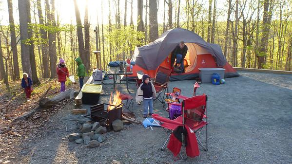 2012 - 04 - Patapsco Camping
