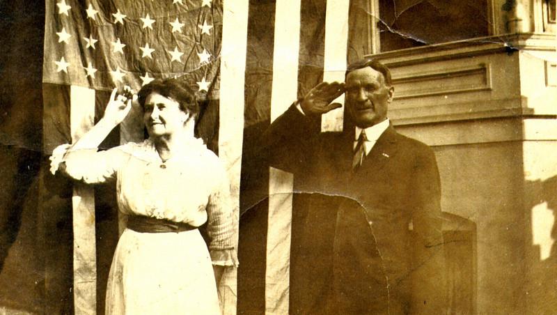 Joseph Underwood and Vianna Pratt Eldredge