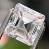 2.63ct Asscher Cut Diamond, GIA E VS1 1