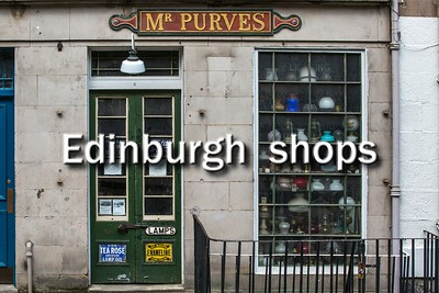 Edinburgh shops