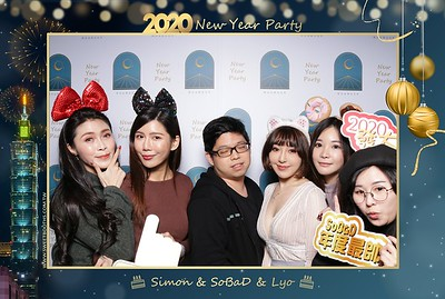 2020 Vision New Year Party by Simon & SoBaD & Lyo