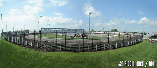 Knoxville Raceway - 8/10/16 - Paul Arch