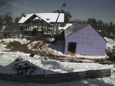 Marion Buckelew Cullen Center Construction