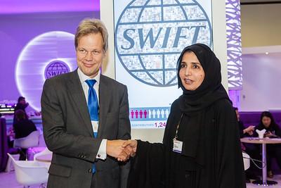 SWIFT at Sibos 2013 Dubai Wednesday